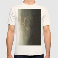 The Grand Canyon Sunset Mens Fitted Tee Natural SMALL