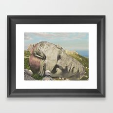 The Man Who Fell To Eart… Framed Art Print
