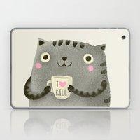 I♥kill (brown) Laptop & iPad Skin
