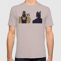 BANE VS THE BAT Mens Fitted Tee Cinder SMALL