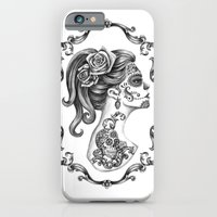 Sugar Skull Girl Cameo iPhone 6 Slim Case