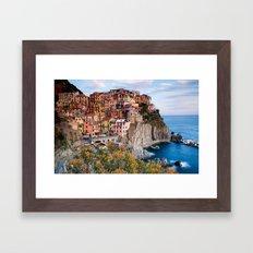Italy Village Framed Art Print