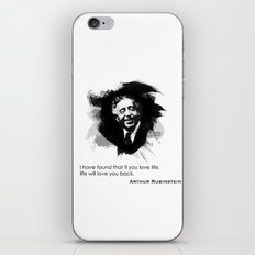 Arthur Rubinstein - Love Life iPhone & iPod Skin