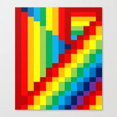 Fuzz Line #3 Canvas Print