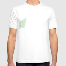 Squirrel Mens Fitted Tee SMALL White