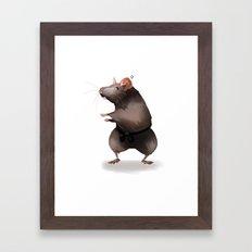 Master Splinter Framed Art Print