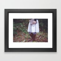 Bookish 03 Framed Art Print