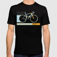 Bike Mens Fitted Tee Black SMALL
