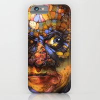 iPhone & iPod Case featuring The Inhabitant  by S.G. DeCarlo