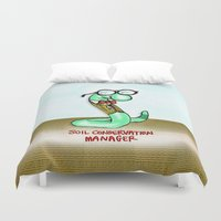 Soil Conservation Manage… Duvet Cover