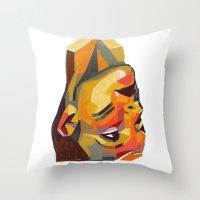 Rubik #2 Throw Pillow