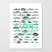 Pisces Canvas Print