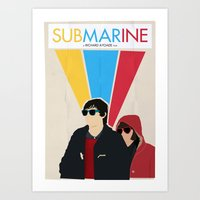 Submarine Movie Poster Art Print