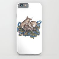 Mice And Skulls iPhone 6 Slim Case