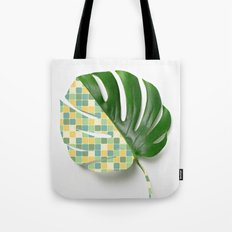 Monstera Mix - Little Sq… Tote Bag
