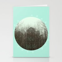 NOW BREATH (WINTER) Stationery Cards