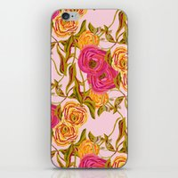 Ranunculus Garden iPhone & iPod Skin