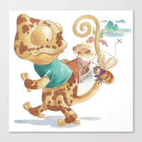 Finding Treasure Island Canvas Print