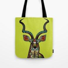 antelope chartreuse Tote Bag