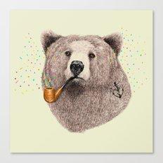 Sailor Bear Canvas Print