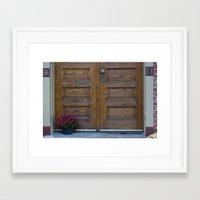Doors 1 Framed Art Print