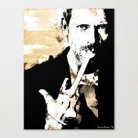Hugh Laurie/Dr. Gregory … Canvas Print