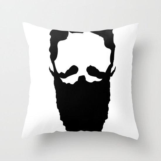 Homeless Wizard Throw Pillow