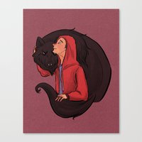 Don't Be Such a Sourwolf Canvas Print