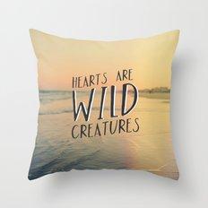 Wild Creatures Throw Pillow