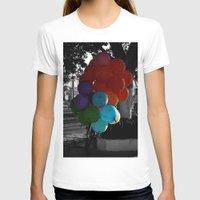 balloon T-shirts featuring balloon by gzm_guvenc