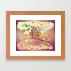 The Lotus Eater. Framed Art Print