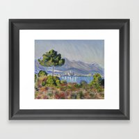 Study of Monet's Work Framed Art Print