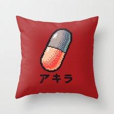 Akira - What a pill ? Throw Pillow
