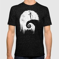 All Hallow's Eve Mens Fitted Tee Tri-Black SMALL