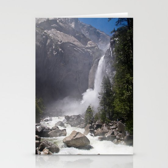 Mists of Nature Stationery Card