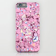 SO MANY PINK PUFFS iPhone 6s Slim Case