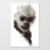 Circles #1 Canvas Print