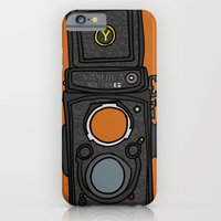 iPhone & iPod Case featuring Yashica by Illustrated by Jenny