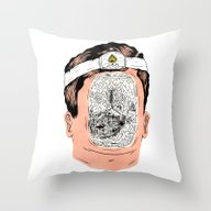 Journey To The Center Of… Throw Pillow