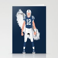 ColtStrong - Andrew Luck Stationery Cards
