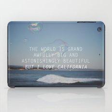 BUT I LOVE CALIFORNIA iPad Case
