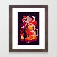 Illuminates Framed Art Print