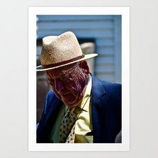 Gramps Art Print
