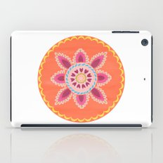 Suzani inspired floral 1 iPad Case