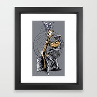 Take a knee to the Arrow ... Framed Art Print
