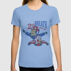 Second Breath Womens Fitted Tee Athletic Blue SMALL