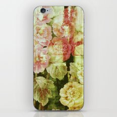 sunny garden iPhone & iPod Skin