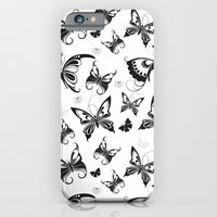 Butterflies In Flight 2 iPhone 6 Slim Case