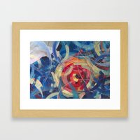 Tidal Bore II Framed Art Print