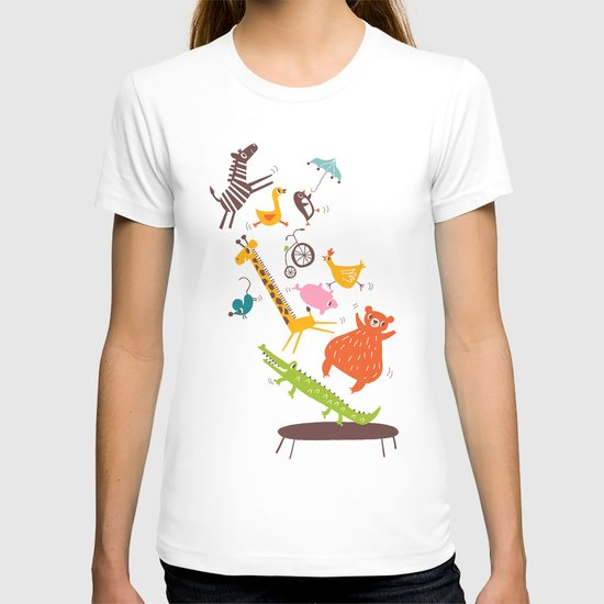 trampolinists T-shirt